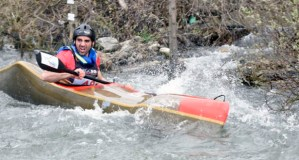 Jesús Rodríguez León, oitavo no mundial de augas bravas sprint por patrullas