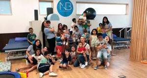A Fundación Neuroburgas celebra a súa festa fin de curso en Ourense
