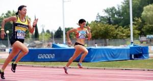 Luz Mª Domínguez e Domingo Álvarez (Burgas Atletismo) conseguen 5 medallas no campionato de España máster