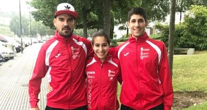 Ouros para Alejo Ares e Leticia Fernández no galego absoluto de atletismo