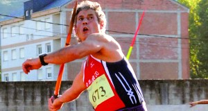 Luis Nogueira, medalla de ouro en xavelina no Campionato de España Máster