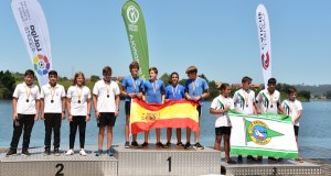 O valdeorrés Raúl Prada, subcampión de España infantil en K-4