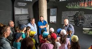 Nova peza interpretativa no Museo Claustro Mercedario de Verín