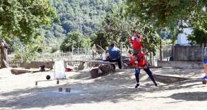 32 parellas compiten en Punxeiro (Viana do Bolo) no XVIII torneo de bolos celtas