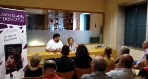 Doli Pereira presenta a súa primeira novela na Biblioteca de Verín