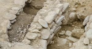 Tumbas con restos humanos no Castro de San Lourenzo en Cereixa (A Pobra do Brollón)