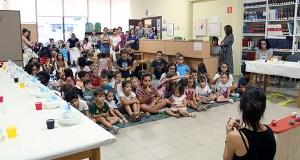 Contacontos e obradoiros para o público infantil, na Biblioteca Municipal do Barco