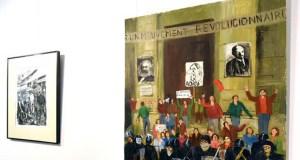 A obra pictórica do valdeorrés Jesús Díaz Ferrer chega a Monforte de Lemos