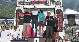 A ourensá Esther Hernández sube ao podio na Ultra 100 km da Canfranc-Canfranc (Huesca)