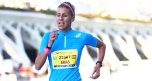A valdeorresa Eva Arias, ouro no mundial máster nos 2.000 obstáculos