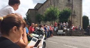 Valdeorras vive a Volta 18 ao seu paso por Larouco