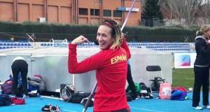 A valdeorresa Mónica Yáñez, cuarta en xavelina W40 no mundial máster en Málaga