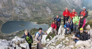 Ruta do Club Peña Trevinca Barco polos lagos de Somiedo e os Picos Albos