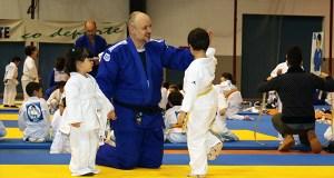 Cativos valdeorreses danse cita na 4ª Xuntanza de Judo do Sil celebrada en Monforte
