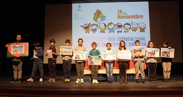 Os nenos, protagonistas do Día Internacional dos Dereitos da Infancia no Barco