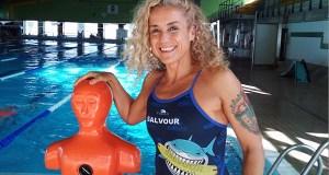 A socorrista ourensá Cristina G. Colomo participará no campionato do mundo en Adelaida (Australia)