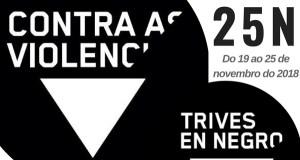 A conmemoración do 25N, en Trives