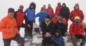 """Ascensión ao cume de Trevinca o 1 de decembro para colocar o """"Belén da cima de Galicia"""""""