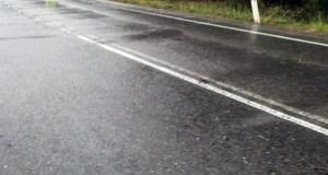 O mal estado da estrada N-120, no pleno de Quiroga
