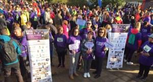 Máis de 1.100 persoas camiñan e corren contra o cancro de páncreas en Vilamartín