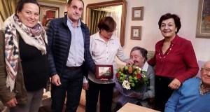 Parada de Sil conta cunha nova centenaria