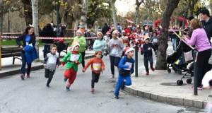A proba infantil abre a 12ª Carreira Popular do Turrón do Barco