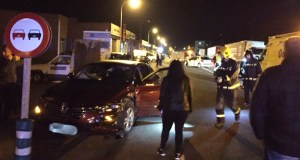 Accidente de tráfico con tres feridos no Barco