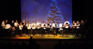 O Festival de Nadal do Conservatorio e da Escola de Música do Barco enche o Teatro Lauro Olmo