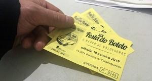 1.125 entradas para a XIX Festa do Botelo, vendidas en menos de hora e media