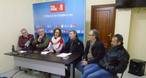 """O PSdeG denuncia """"a situación de precariedade da sanidade de Valdeorras"""""""