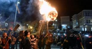 Os Fachós iluminarán Castro Caldelas na noite do 19 de xaneiro