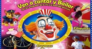 O circo chega ao Auditorio Julio Vázquez de Trives