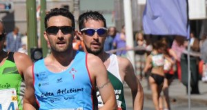 O barquense José Fernández, subcampión galego de marcha en ruta