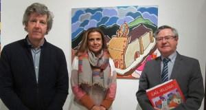 """O Mosteiro de Xagoaza, nun dos cadros da exposición """"Galicia, o País das Marabillas"""""""