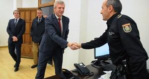 Inaugúrase a nova sede da comisaría da Policía Autonómica en Ourense