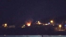 Incendio nunha caseta da Proba (O Barco)
