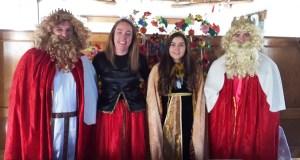 Festa tradicional de Reis e de Raíñas na Mezquita