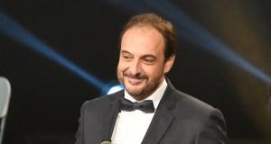 O humorista Roberto Vilar, pregoeiro da Festa do Botelo do Barco