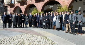 As infraestruturas e o Corredor Atlántico, na asemblea xeral do Eixo Atlántico celebrada no Barco