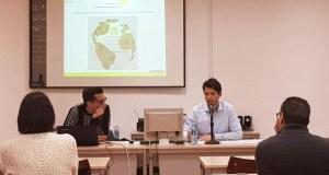 "O trivés Luis Álvarez abría a xornada ""PASSIVHAUS PEP- COAATIE Ourense"" no Colexio de Aparelladores provincial"