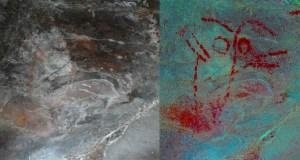 Descubren en Casaio o maior conxunto de pintura esquemática prehistórica de Galicia