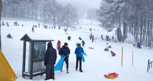 Fin de semana de esquí na estación de montaña de Manzaneda