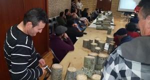 Unha sesión práctica completa a xornada de inxerta e poda do castiñeiro en Manzaneda