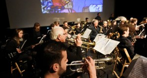 A Banda de Música do Barco déixase envolver polo cine