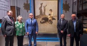 """Inaugúrase a mostra """"Castelao e Prada, irmaus!"""" en Ourense"""