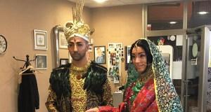 Toural-Indian, segundo premio do concurso de disfraces de Viana