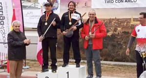Santos Murias, do Club Arco Barco, subcampión no 2º Gran Premio de España celebrado en Toledo