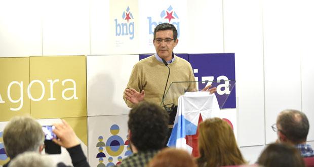 """Iago Tabarés: """"O BNG é garantía de que se falará da provincia de Ourense e de Galicia en Madrid"""""""