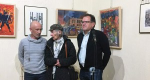 A pintura do barquense Jesús Díaz regresa ao Liceo de Ourense
