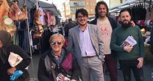O cabeza de lista de En Marea por Ourense ao Congreso, en Viana e Verín